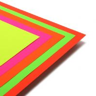 A3 Day Glo Fluorescent Paper In Assorted Colours - 50 Sheets